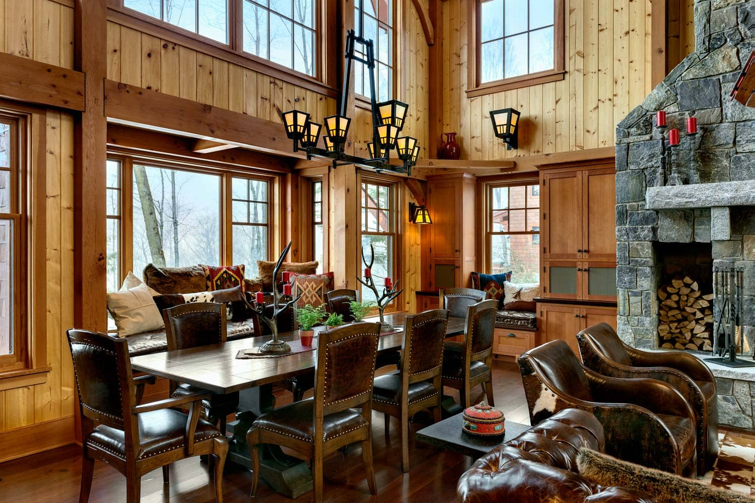 ski-country-dining-room-design