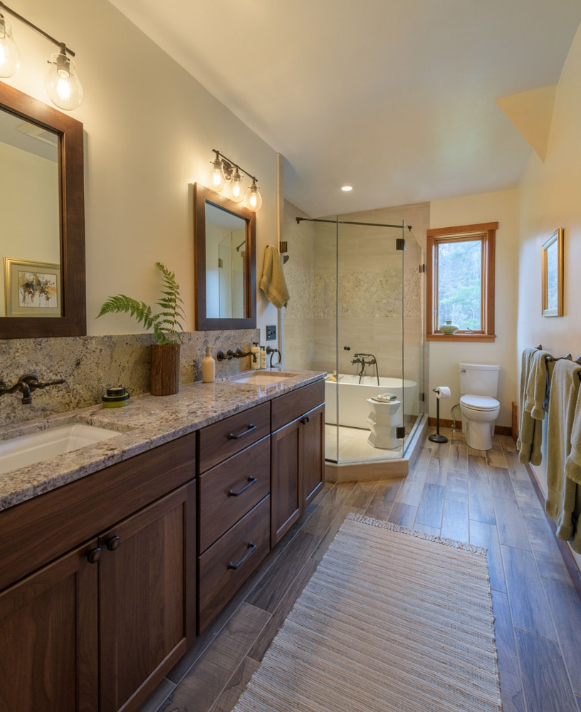 Mountain Bathroom Interior Design