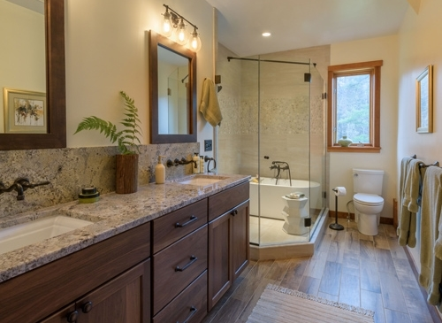 Franconia Nh Mountain Bathroom Design
